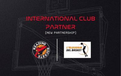 New International Club Partner: L'Alqueria Del Basket